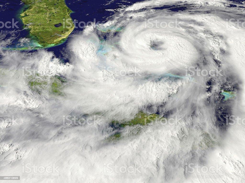 Hurricane stock photo