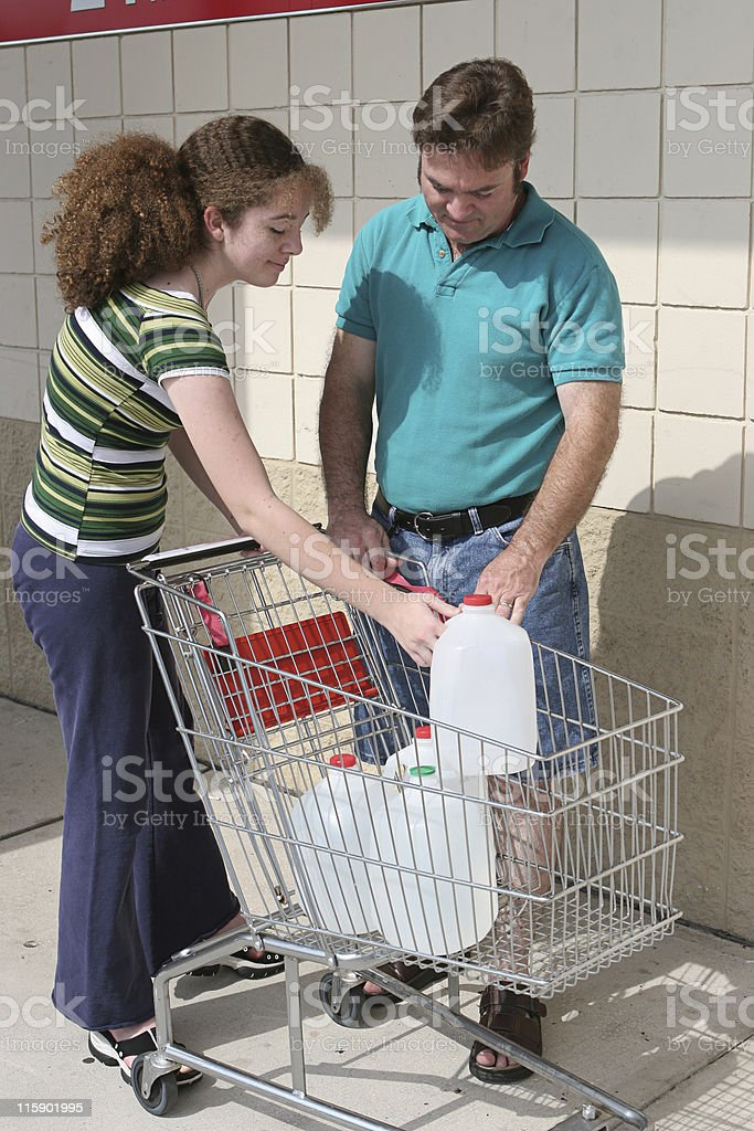 Hurricane Preparedness or Recycling royalty-free stock photo