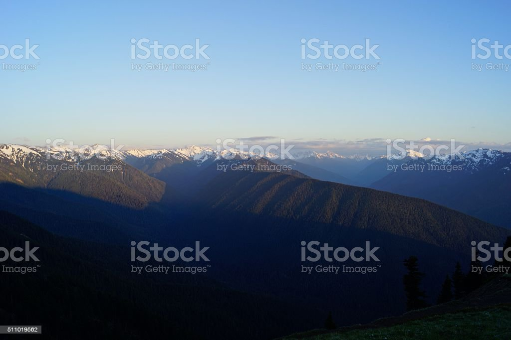Hurricane Ridge stock photo