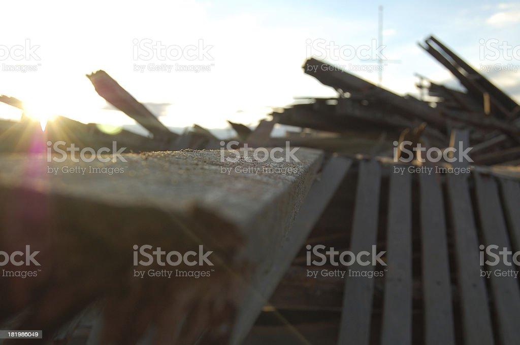 Hurricane Sandy Destruction (20) stock photo