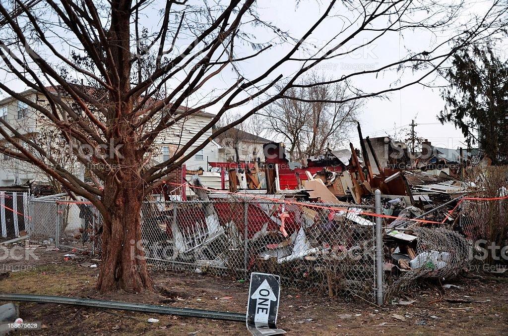 Hurricane Sandy royalty-free stock photo