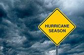 Hurricane Season Road Sign