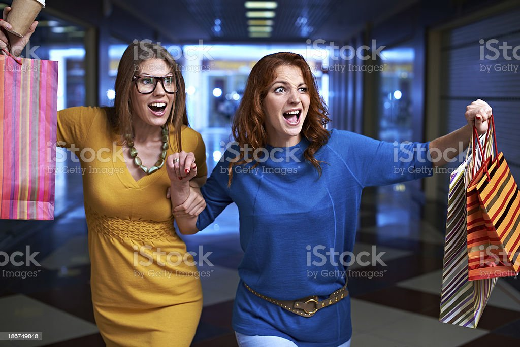 Hurry up! Sales are in full swing! royalty-free stock photo