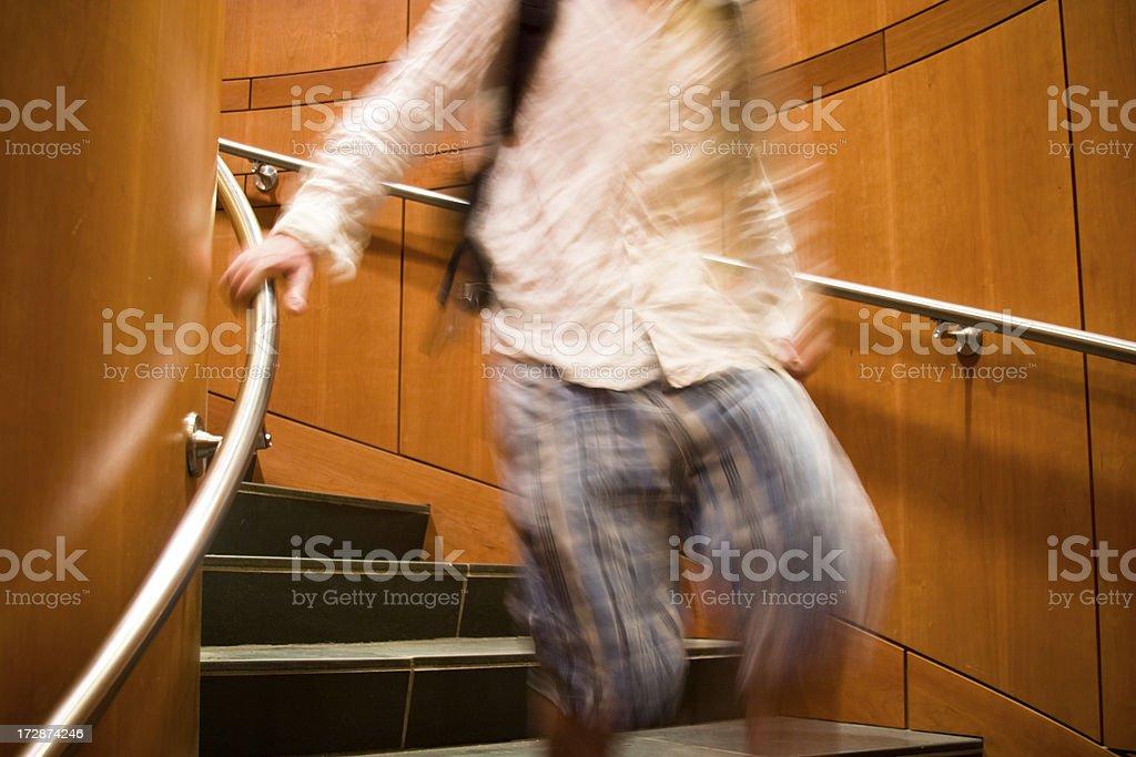 Hurrying stock photo
