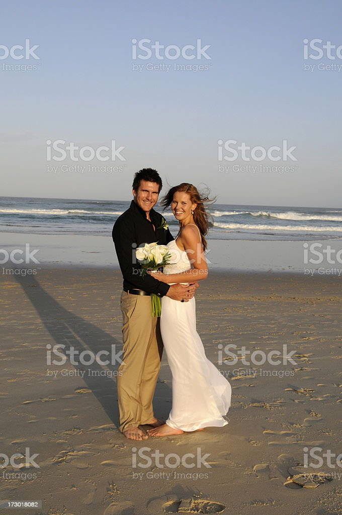 Husband and wife royalty-free stock photo