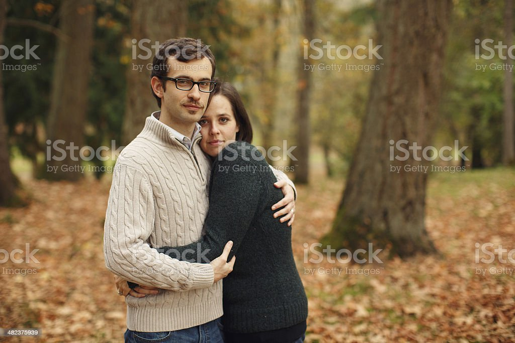 Husband and Wife stock photo