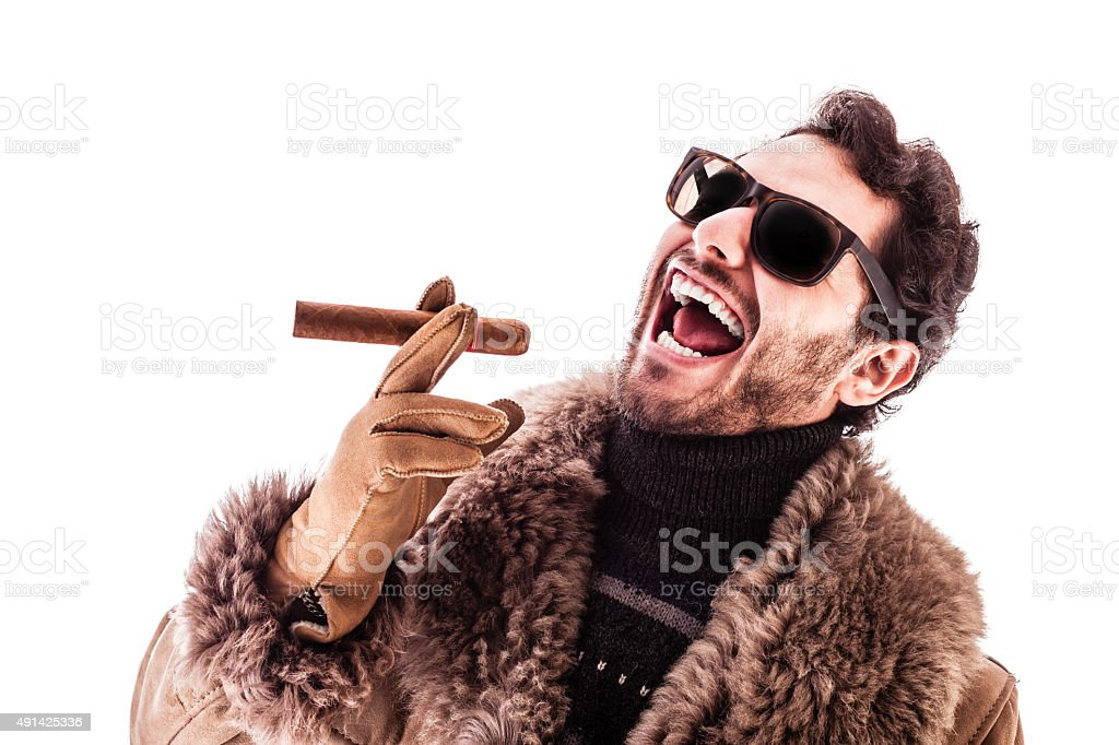 Hustler stock photo