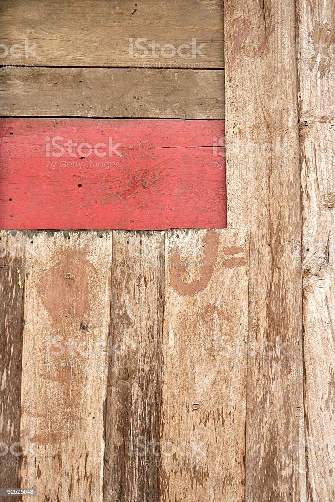 Hut / Barn Detail royalty-free stock photo