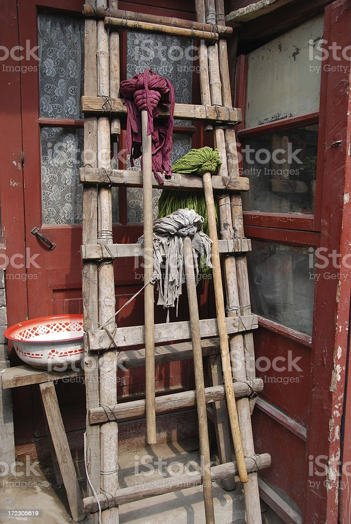 Hutong Mops royalty-free stock photo