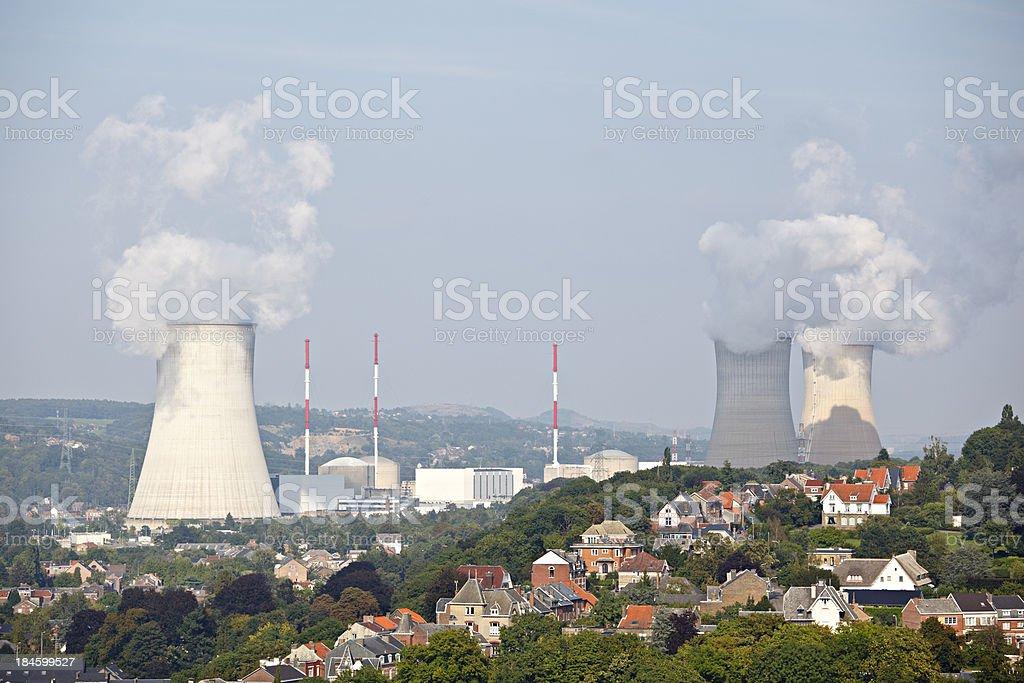 Huy And Tihange, Belgium stock photo