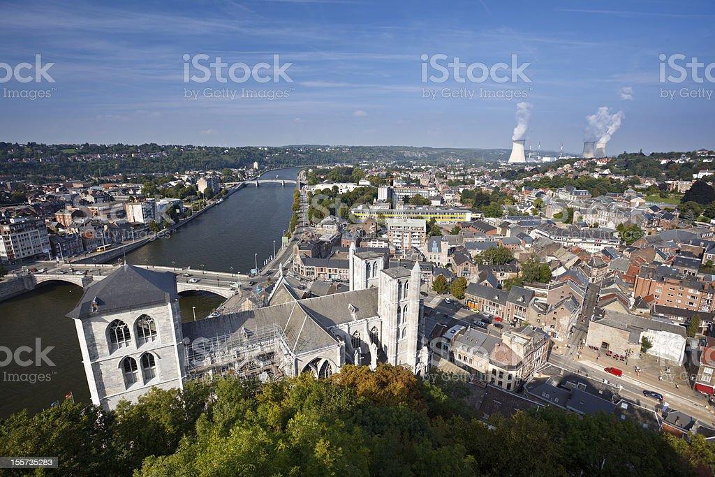 Huy, Belgium stock photo