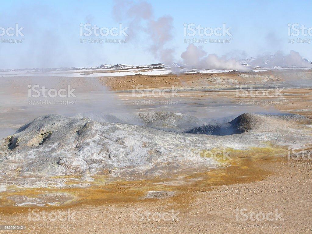 Hverir Iceland 01 stock photo
