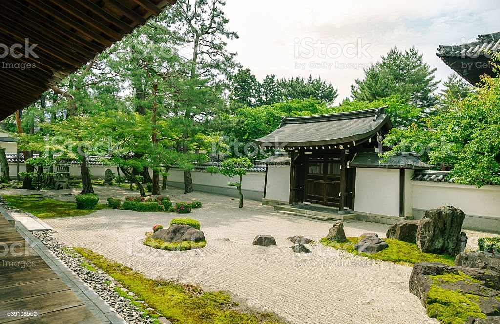 Hyakumanben Chion-ji Temple, Kyoto, Japan stock photo