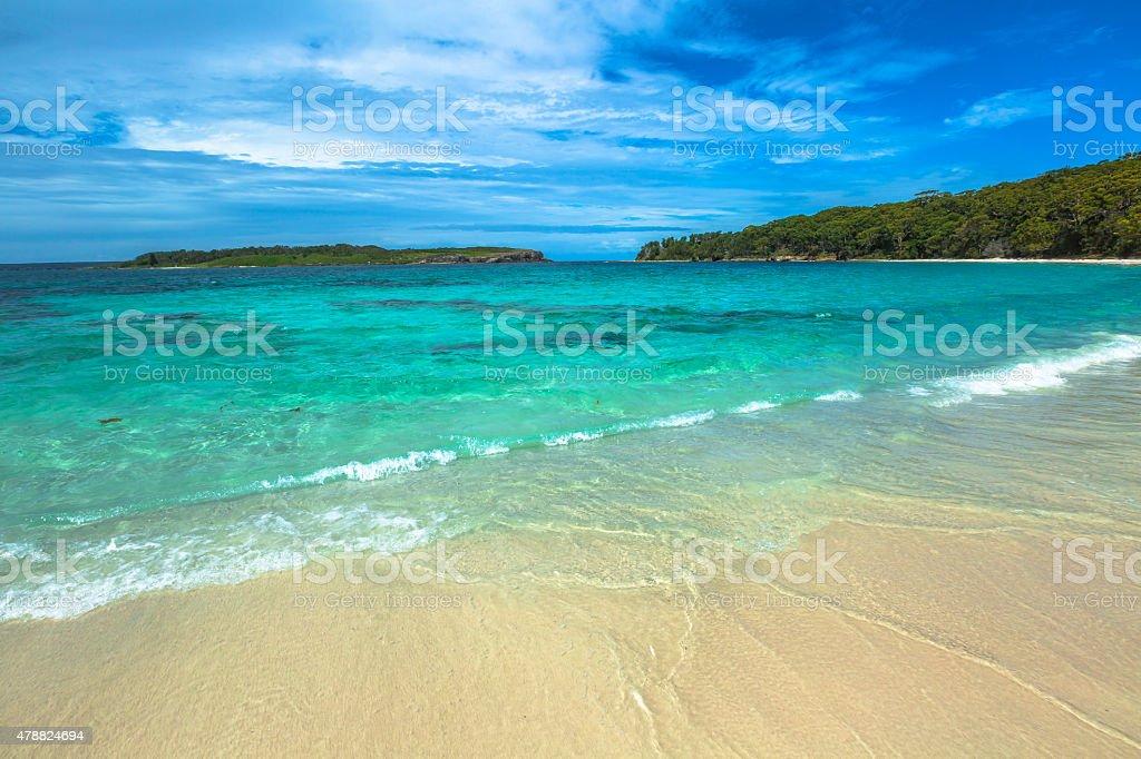 Hyams Beach Australia stock photo
