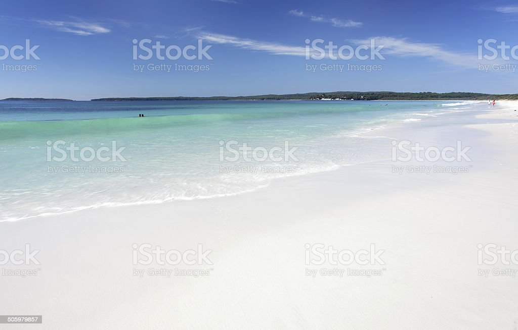 Hyams Beach, Australia stock photo