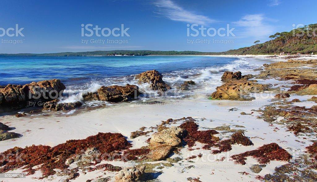 Hyams Beach, Jervis Bay Australia stock photo