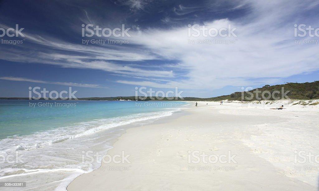 Hyams Beach, NSW Australia stock photo