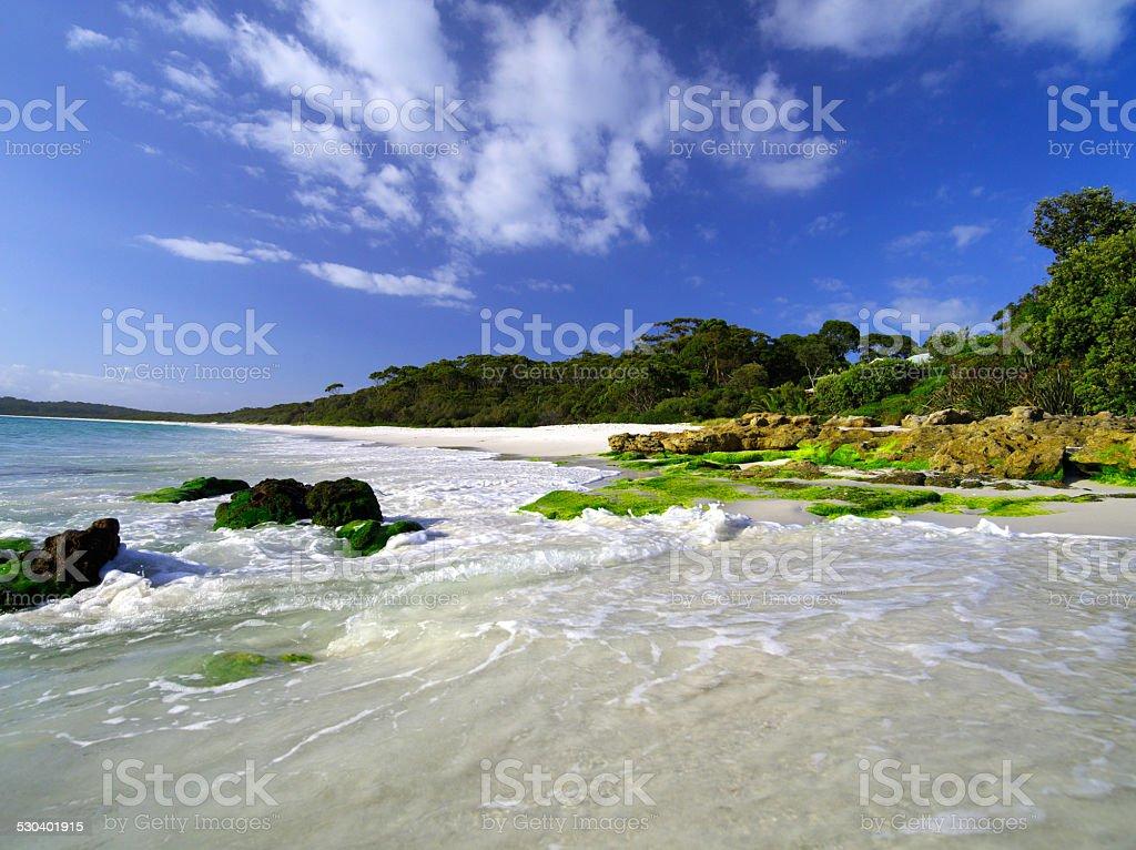 Hyams Beach stock photo