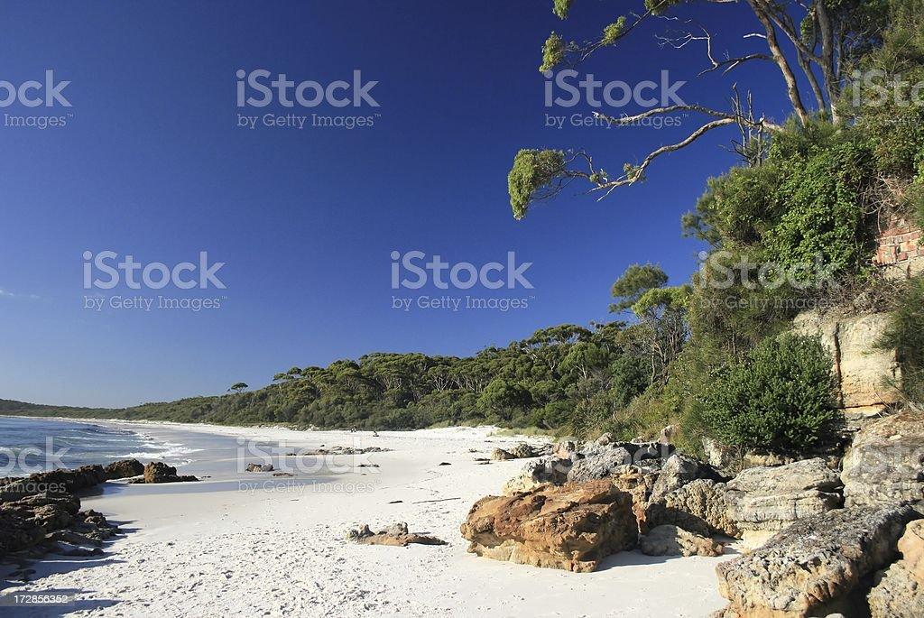 Hyams Beach,Jervis Bay,NSW,Australia royalty-free stock photo