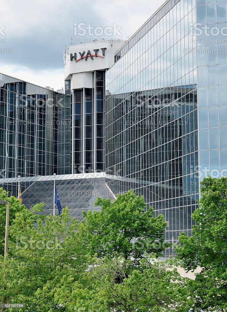 Hyatt, Baltimore, Maryland stock photo