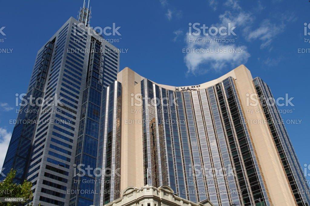 Hyatt Hotel Melbourne stock photo