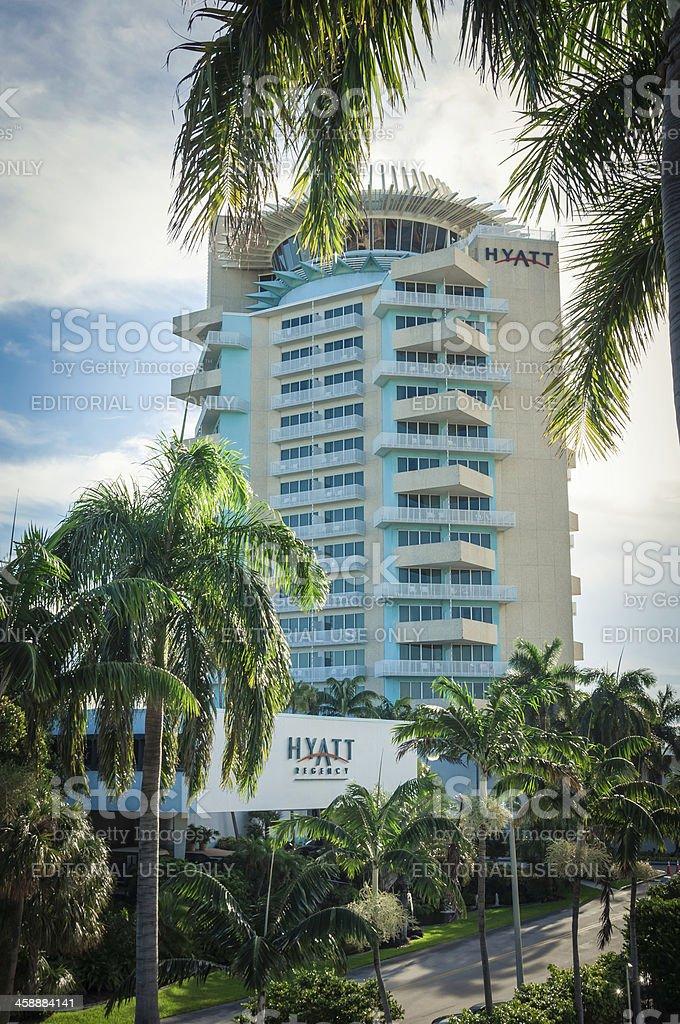 Hyatt Hotels stock photo