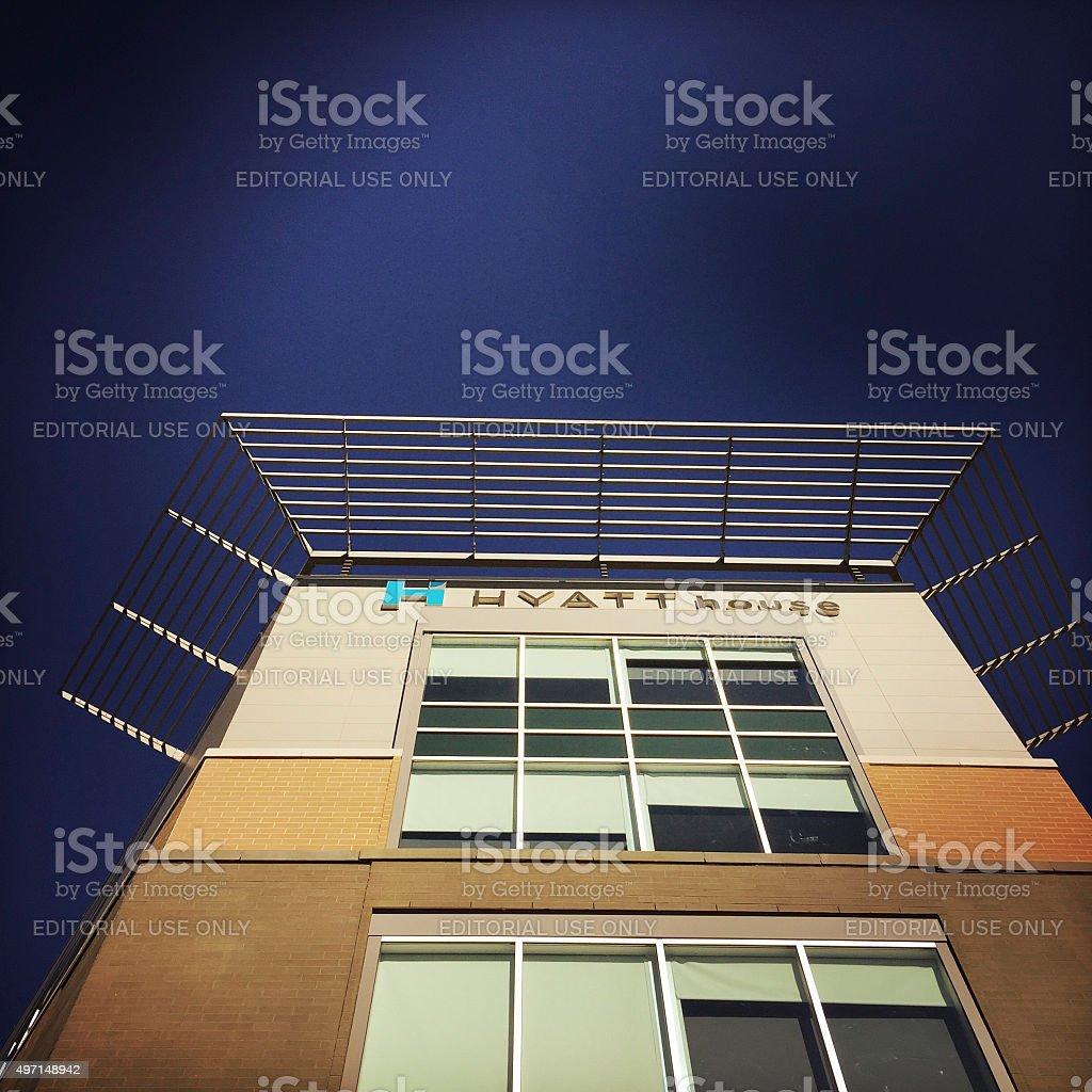 Hyatt House in Pittsburgh stock photo