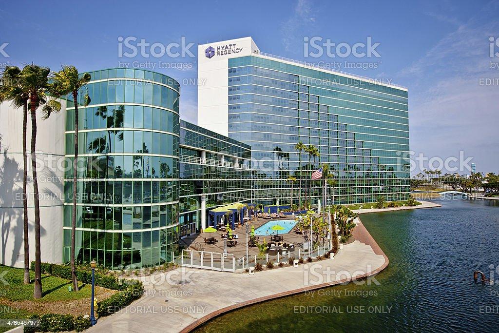 Hyatt Regency Resort, Long Beach, California stock photo
