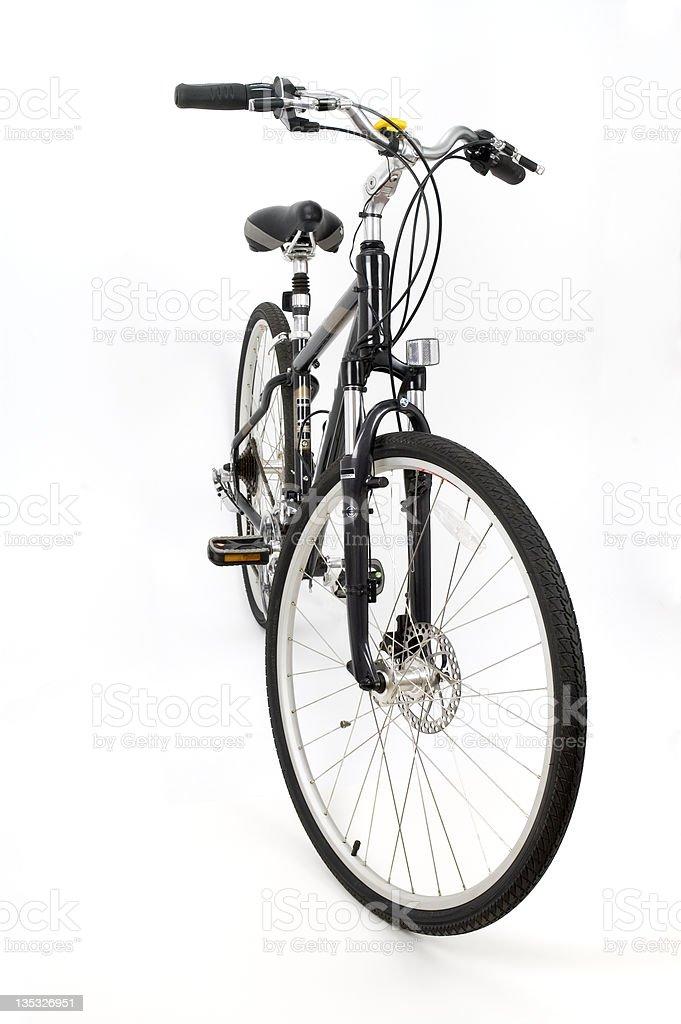 Hybrid Comfort Bike Front stock photo