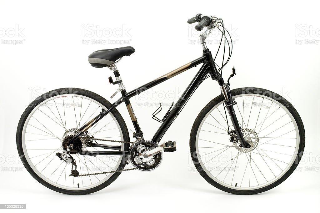 Hybrid Comfort Bike stock photo