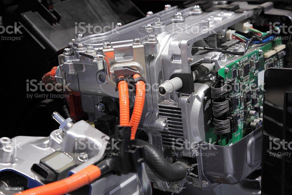 Hybrid engine royalty-free stock photo