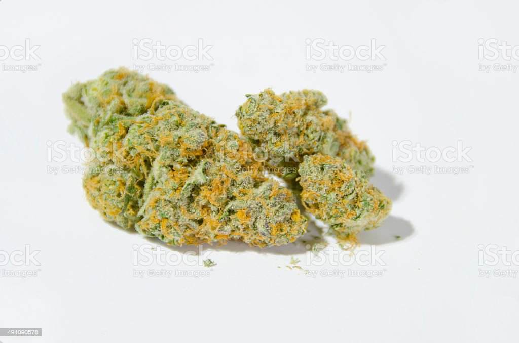 Hybrid Marijuana Buds stock photo