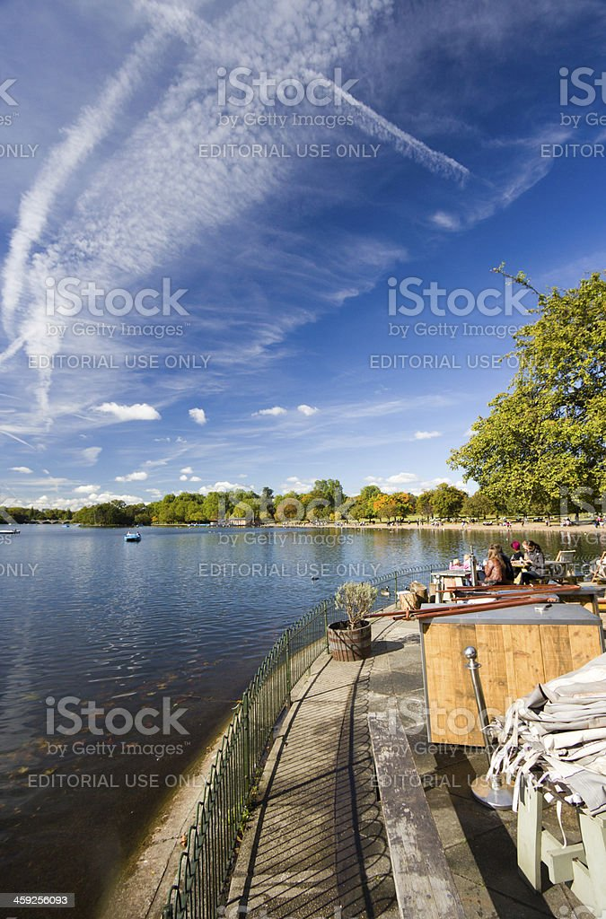 Hyde Park in London, England royalty-free stock photo