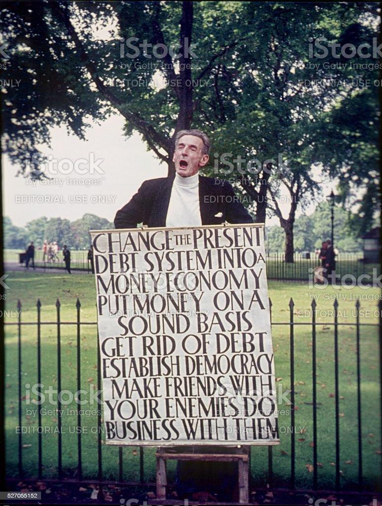 Hyde Park, London, III stock photo