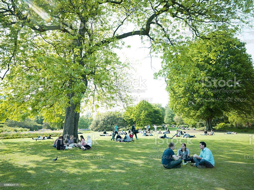Hyde Park London royalty-free stock photo