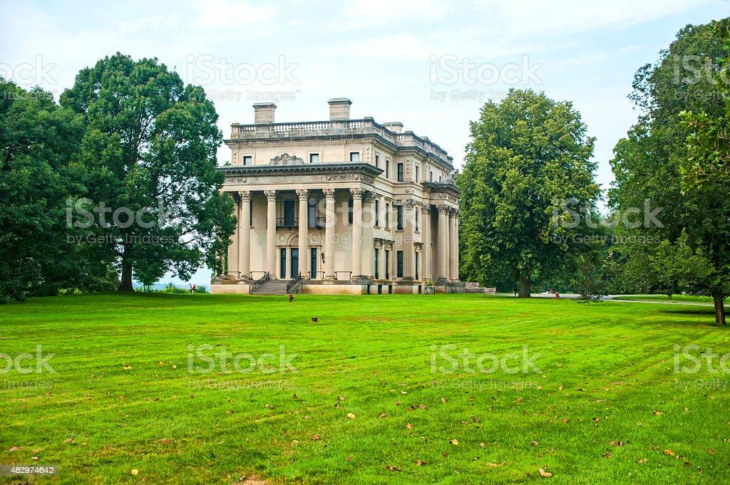 Hyde Park Mansion stock photo