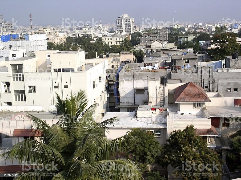 Hyderabad Indian City stock photo
