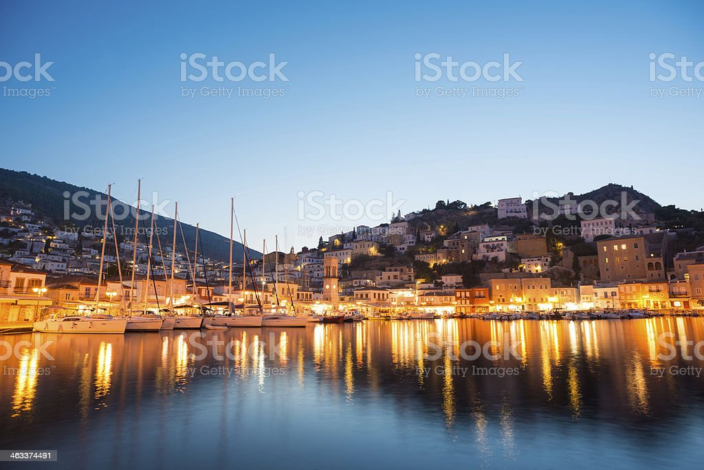 Hydra Island, Greece stock photo