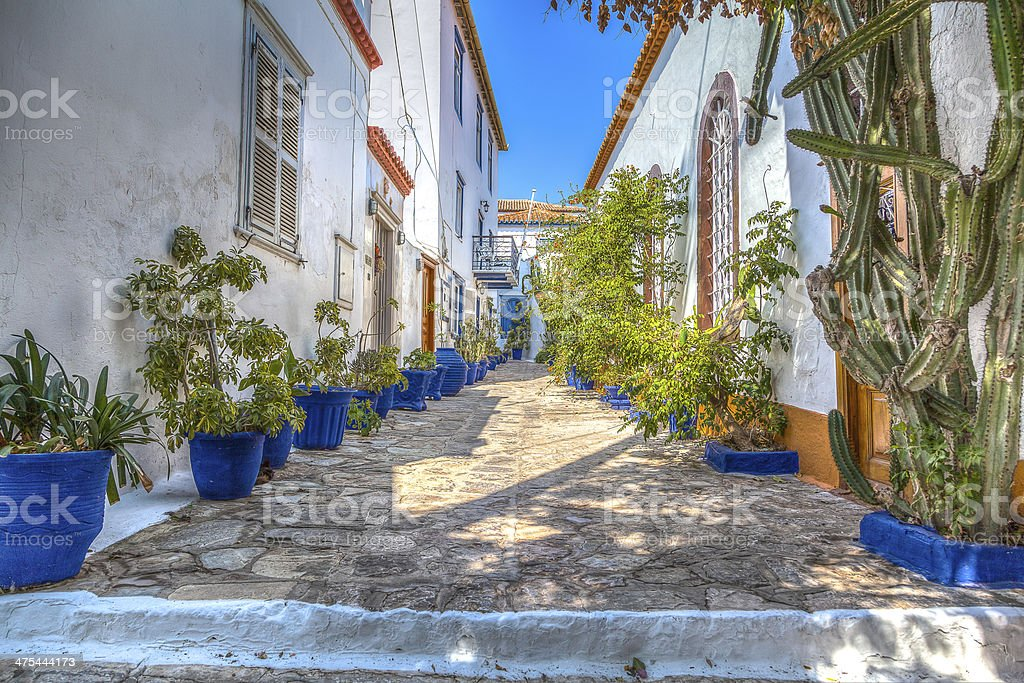 Hydra (isle of greece) stock photo