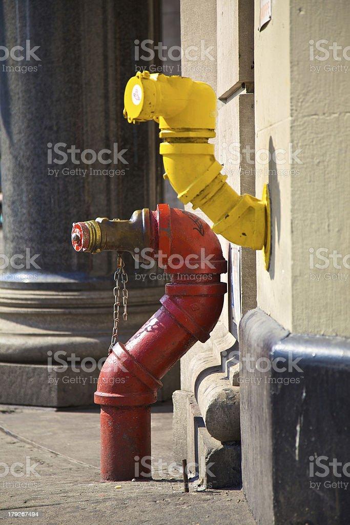 Hydranten,New York stock photo