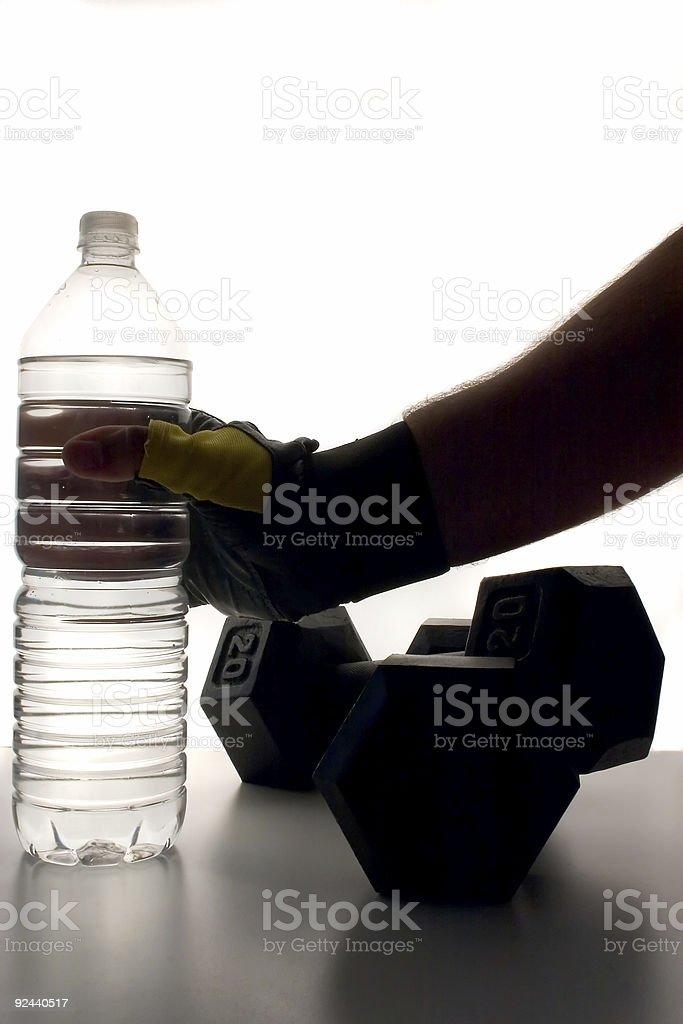 Hydration royalty-free stock photo