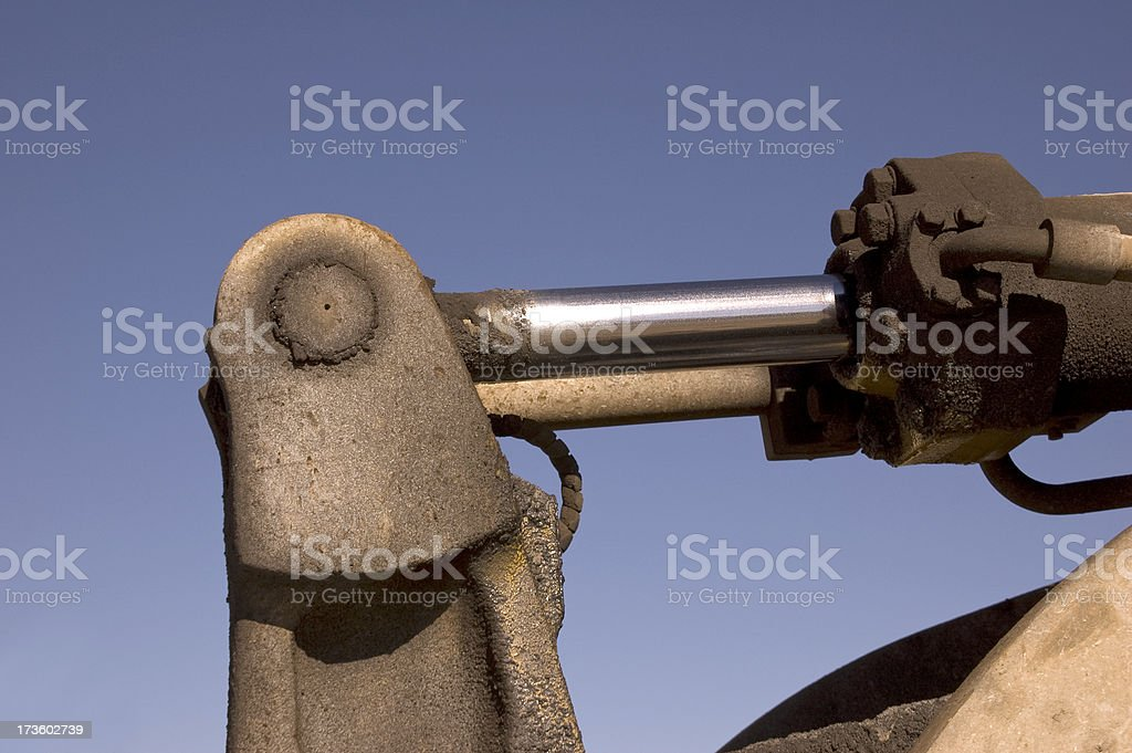 Hydraulic Arm royalty-free stock photo