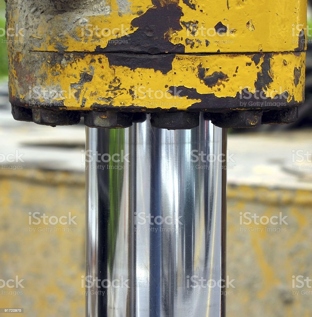 Hydraulic Equipment royalty-free stock photo