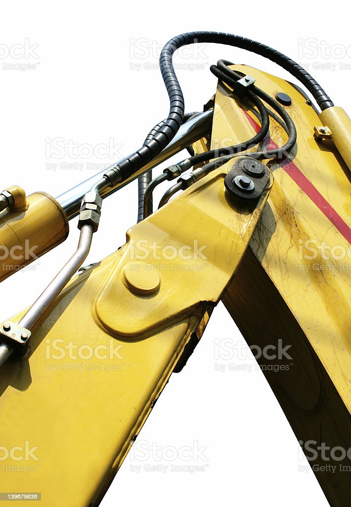 Hydraulic Joint Iso royalty-free stock photo