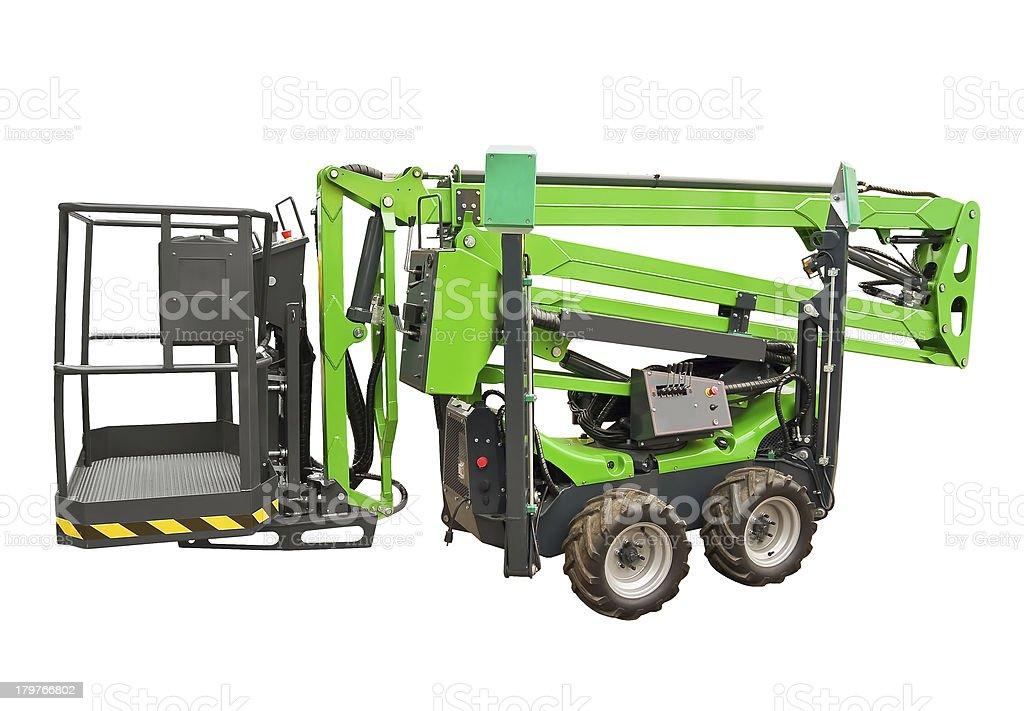 Hydraulic lift royalty-free stock photo