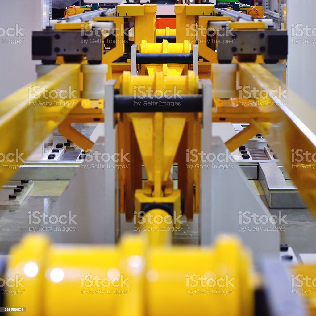 Hydraulic Platform Abstract stock photo