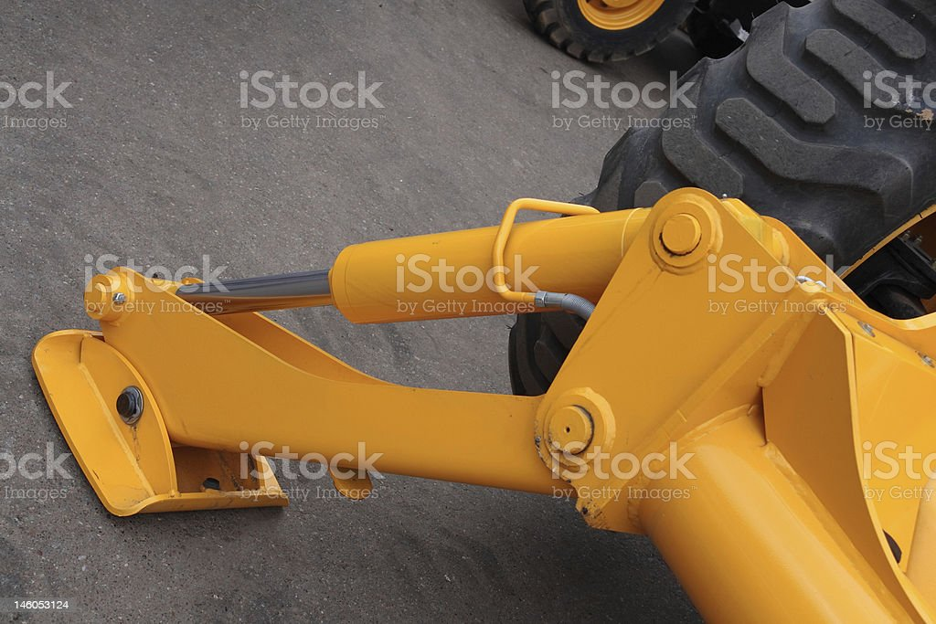 Hydraulic support. royalty-free stock photo