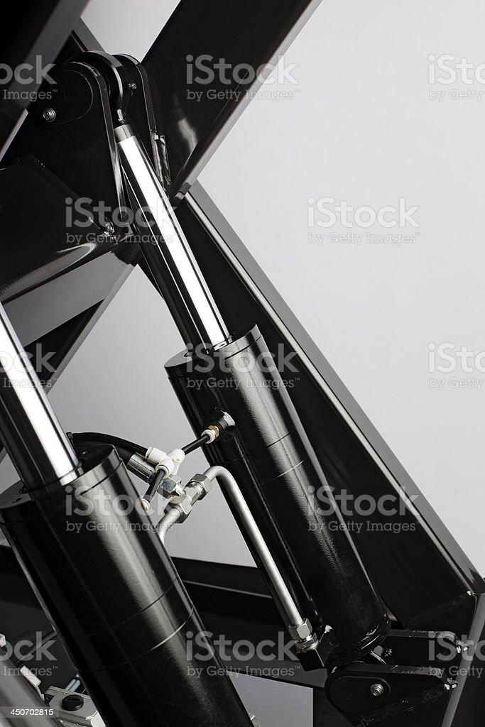 Hydraulics stock photo
