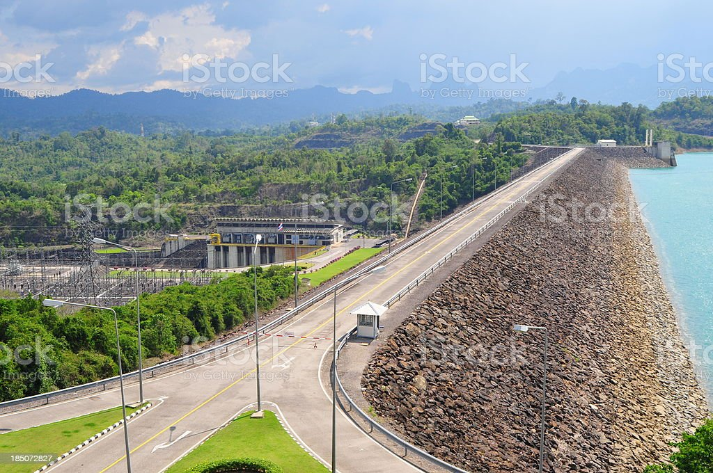 Hydro electric power plant royalty-free stock photo