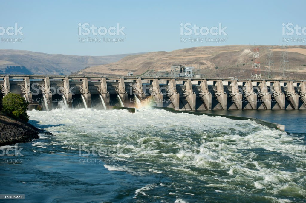 Hydro Power stock photo